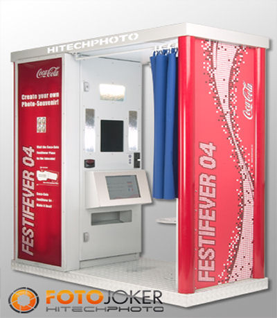 Photoautomat Photobooth vending for wedding lease leasing